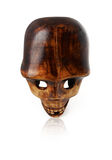 Cráneo de Woden imagen de archivo