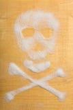 Cráneo del azúcar Fotos de archivo libres de regalías