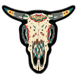Cráneo del búfalo libre illustration