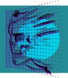 Cráneo del bosquejo. Foto de archivo libre de regalías