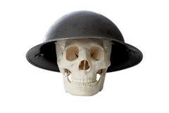 Cráneo del ejército Imagen de archivo libre de regalías