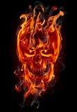 Cráneo del fuego Imagen de archivo libre de regalías