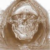Cráneo del horror Imagenes de archivo