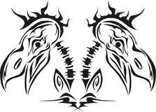 Cráneo del pájaro Imágenes de archivo libres de regalías