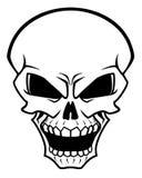 Cráneo del peligro Foto de archivo libre de regalías