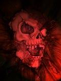 Cráneo falso Imágenes de archivo libres de regalías