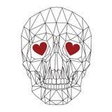 Cráneo humano Fotos de archivo libres de regalías