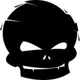 Cráneo joven stock de ilustración