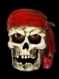 Cráneo malvado del pirata Fotografía de archivo libre de regalías