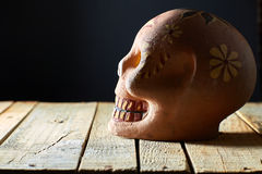 Cráneo mexicano Fotos de archivo libres de regalías