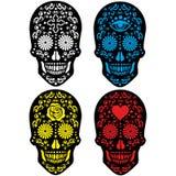 Cráneo mexicano del azúcar Imagen de archivo