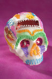 Cráneo o âCalaveritaâ mexicano del azúcar Fotos de archivo libres de regalías