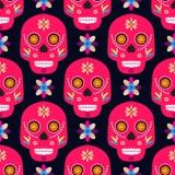 Cráneo pattern8 stock de ilustración