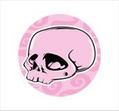 Cráneo rosado Foto de archivo libre de regalías