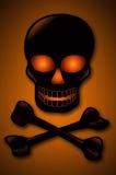Cráneo y Crossbones Imagen de archivo