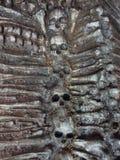 Cráneo y huesos Imagenes de archivo
