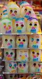 Cráneos del azúcar Imagen de archivo libre de regalías