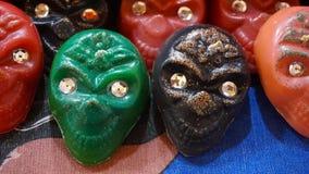 Cráneos del chocolate Imagen de archivo