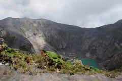 cráter Fotografía de archivo libre de regalías