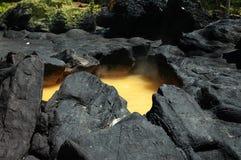Cráter imagen de archivo