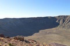 Cráter Arizona del meteorito Fotos de archivo libres de regalías
