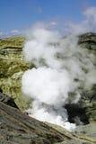 Cráter Aso Japón del volcán Fotos de archivo
