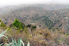 Cráter de Bandama Fotos de archivo