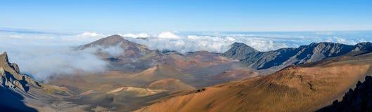 Cráter de Haleakala Imagen de archivo