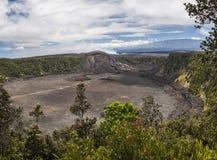 Cráter de Kilauea Iki Foto de archivo libre de regalías