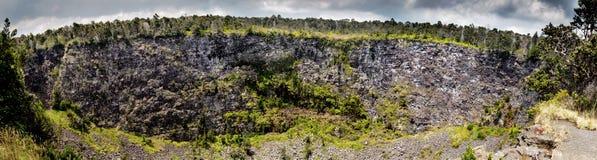 Cráter de Puhimau Fotos de archivo libres de regalías
