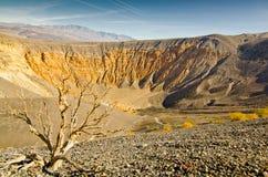 Cráter de Ubehebe Fotos de archivo libres de regalías