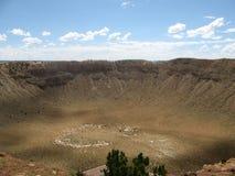 Cráter del meteorito, Arizona Imagenes de archivo