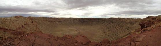 Cráter del meteorito, Arizona Imágenes de archivo libres de regalías