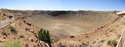 Cráter del meteorito, asta de bandera, Arizona Fotos de archivo libres de regalías