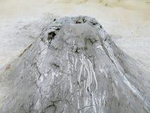 Cráter del volcán del fango fotografía de archivo libre de regalías