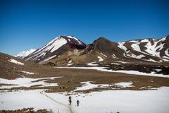 Cráter volcánico fotografía de archivo