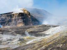 Cráteres del Etna Fotografía de archivo libre de regalías