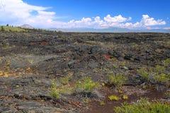 Cráteres del monumento nacional de la luna Fotografía de archivo libre de regalías