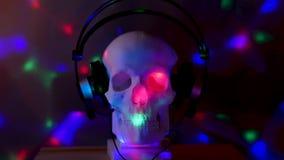 Crâne à la disco banque de vidéos