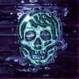 Crâne abstrait Photo libre de droits