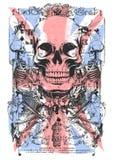 Crâne BRITANNIQUE illustration libre de droits