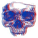 Crâne 3d Photographie stock libre de droits