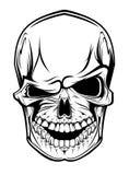 Crâne de danger illustration de vecteur