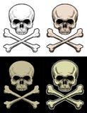 Crâne de danger illustration libre de droits