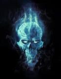 Crâne de glace illustration libre de droits