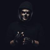 Crâne de Halloween Photographie stock libre de droits
