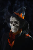 Crâne de Halloween Photos stock