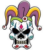 Crâne de joker Image libre de droits