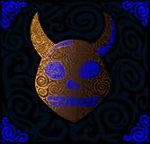 Crâne de la créature inconnue illustration libre de droits