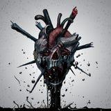 Crâne de la mort Image stock